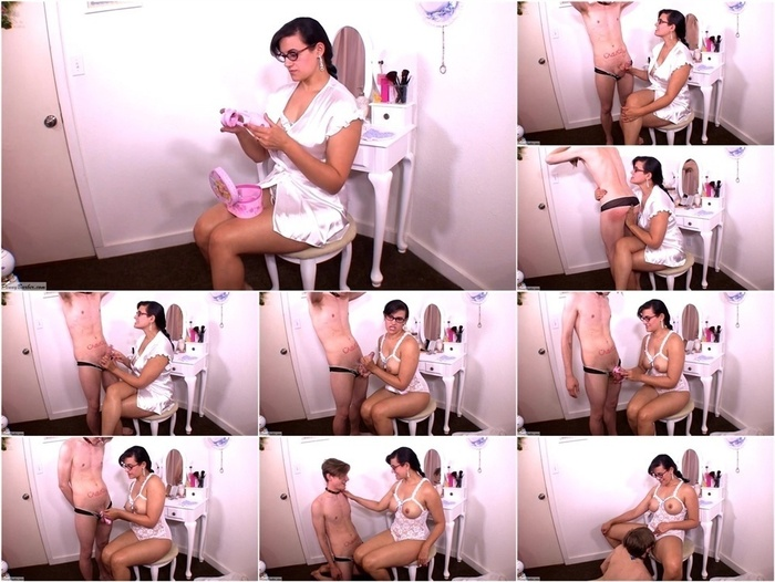 ManyVids presents Penny Barber in Sissy Lessons: Pantyboy Chastity Tips