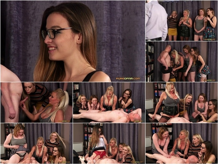 PureCFNM – Panty Humping – Amber Jayne  Amber West  Kylie Nymphette and Michelle Thorne