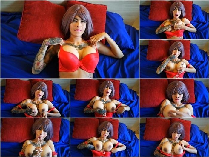 ManyVids presents InkedMonster – Asian Babe Close-up Boob Worship JOI