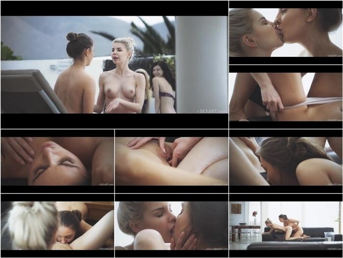 SexArt presents Arian & Lena Reif & Olivia Sin & Rebecca Volpetti in Pool Girls 2 –