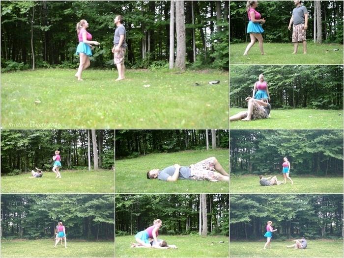 ManyVids presents Kristi Lovett – BG13 John's Judo Date Fantasy