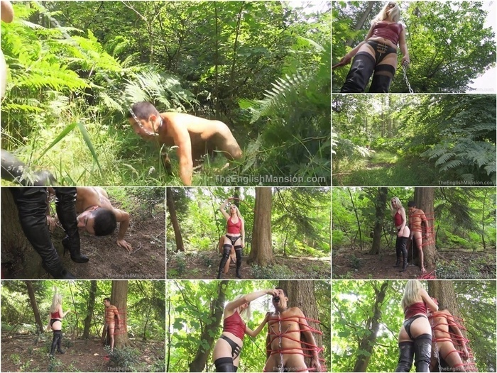 The English Mansion – Mistress Sidonia – Abused In The Woods – Complete