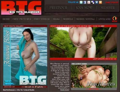 BigTitsGlamour.com – SITERIP