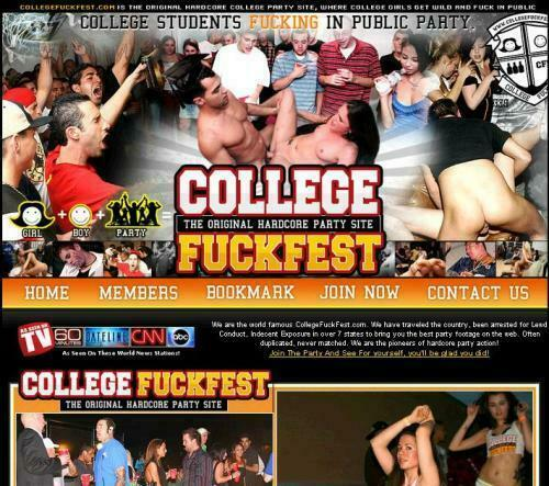 CollegeFuckFest.com – SITERIP